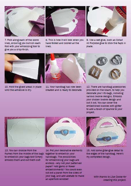 Ultimate Pro Handbag making instructions page 2